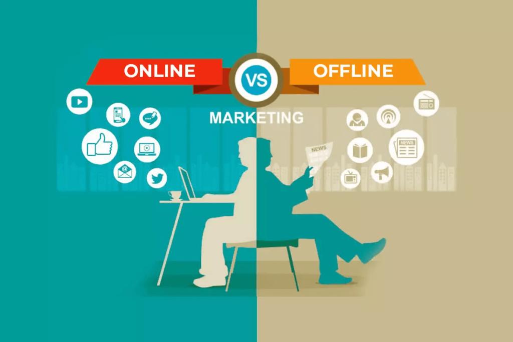 Boa divulgação online e offline