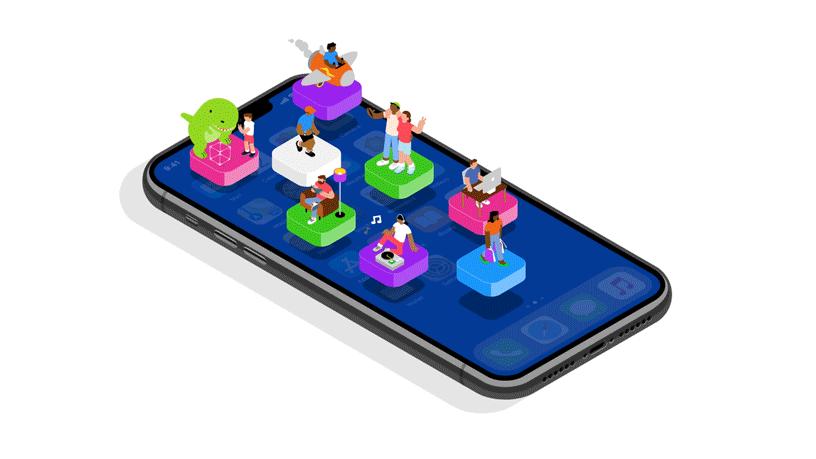 Presença em aplicativos