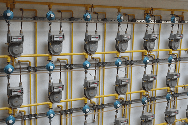Como funciona a distribuição de gás canalizado?